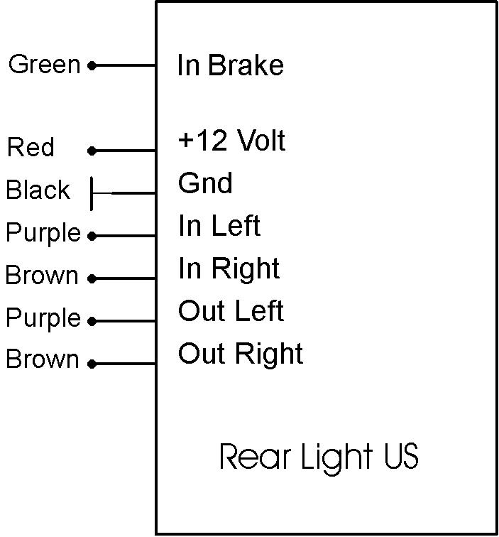 Rear Light US