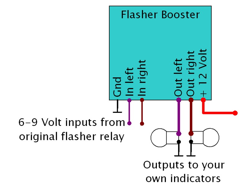 Multi Flasher Relay