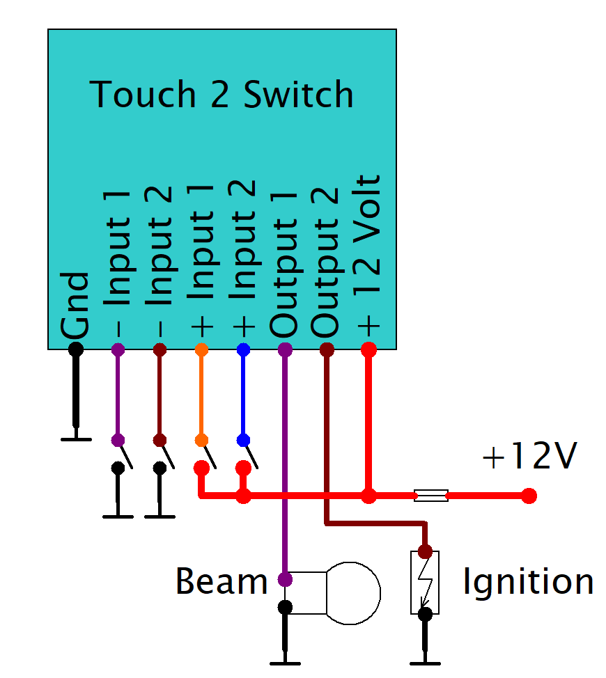 Touch 2 Switch